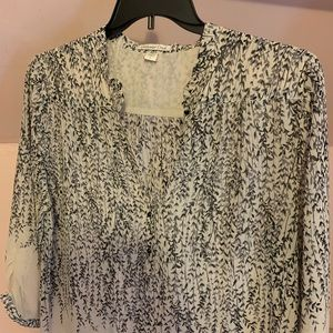Coldwater Creek sheer blouse